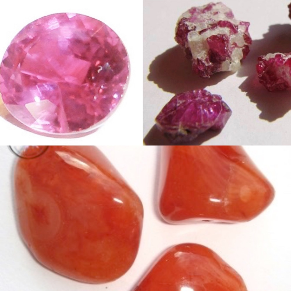 Ruby & Carnelian - July Birthstones