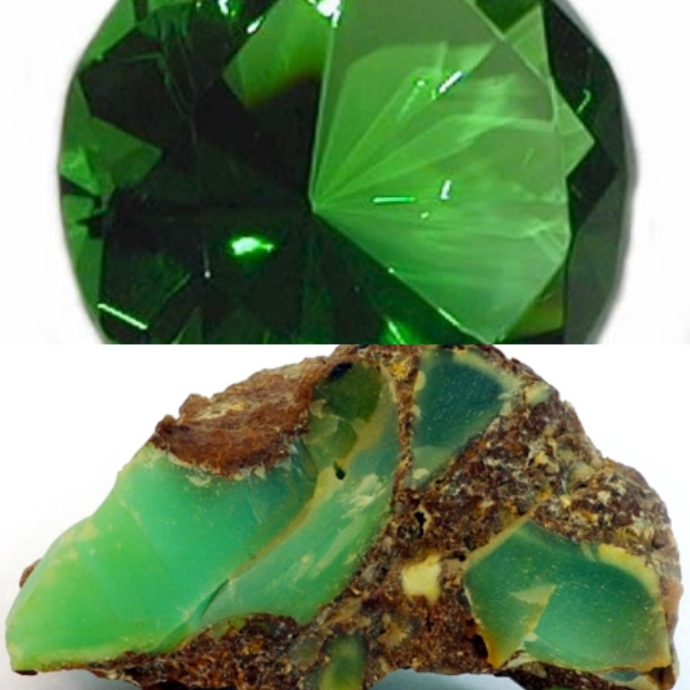 Emerald & Chrysoprase - May Birthstones