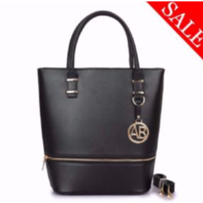 Stylish Alexander Black Ladies Tote bag (Black)