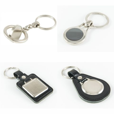 Keyring and Keyfob Blanks.