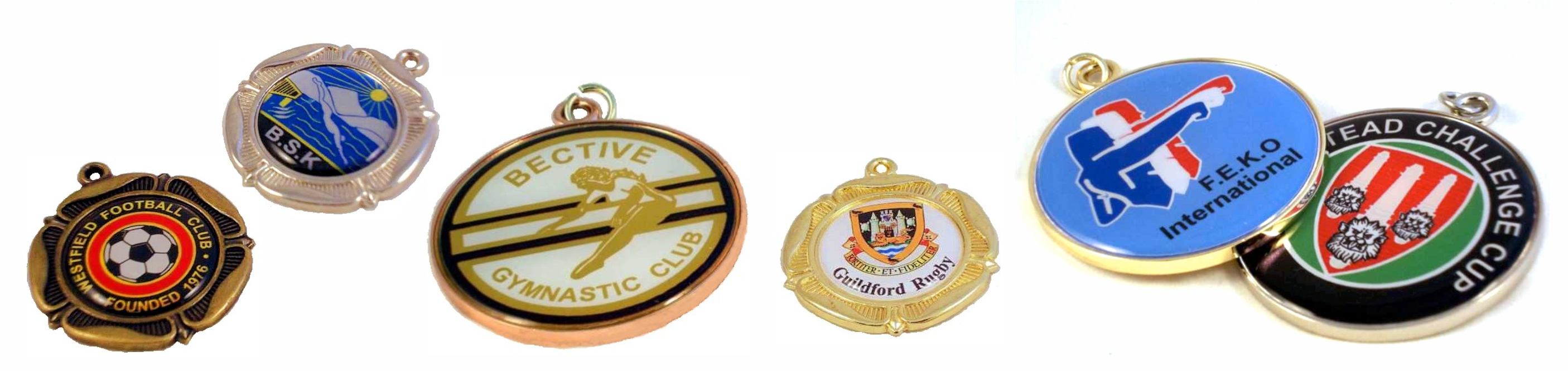 Medals with Custom print centres.