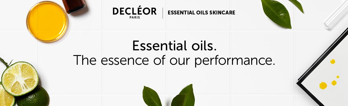 Decleor Essential Oils Banner